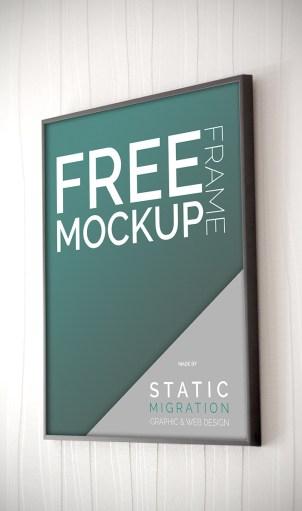 Free Frame Mock-up Template