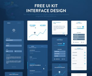 EventRay UI Kit Preview by Dtail Studio