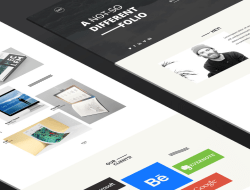 DIFF Free Portfolio Website Template