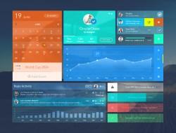 Uistic Free Futuristic UI Kit