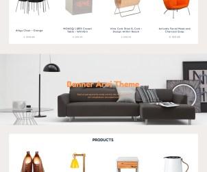 Arvi: Free E-commerce Website Template