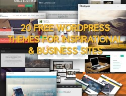 20 Free WordPress Themes for Inspirational & Business Sites
