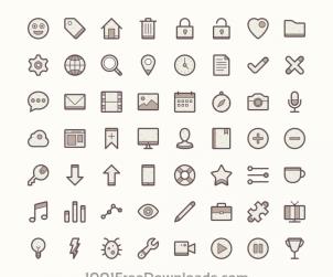 Barker - Free Icon Set
