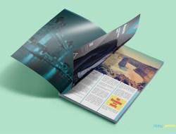 Free Customizable Magazine Ad Mockup