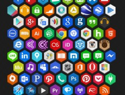 Hex Free Icons Pack
