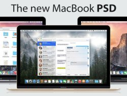 The New Macbook Mockup
