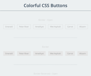 Colorful CSS Buttons
