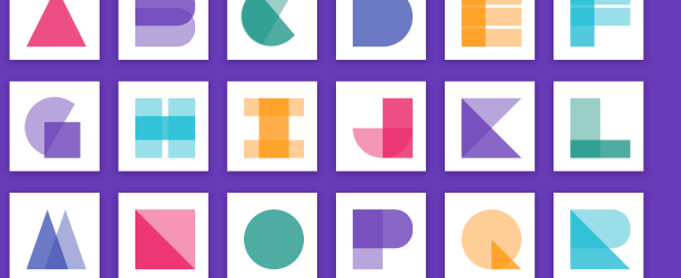 Material Design Alphabets in CSS