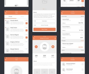 Awesome Kit - Free UX Prototyping Mockups for iOS