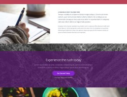 Pex - A Free Website Home Page Template
