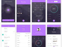Free to-do App UI Kit