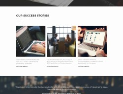 Arkenea Free Website Template