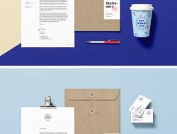 Free Branding / Identity MockUp Vol.15
