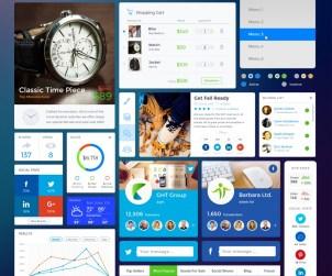 Free Shopping - Social UI Kit