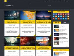GridBlog - Modern Free WordPress Theme