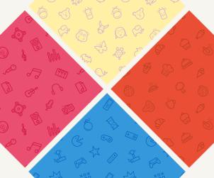 4 Free Seamless Icon Patterns