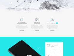 Fjord - Free Landing Page Website Template