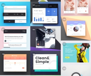 100 Free PSD & HTML UI Resources