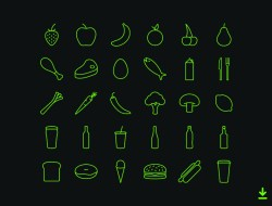 Free Food & Drink Icons
