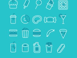 Free Simple Food Icons