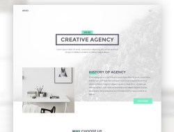 AKAD - Free PSD & HTML Website Template
