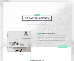 AKAD - Free PSD & HTML Website Template