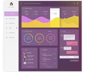 Free Admin Dashboard UI
