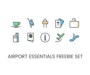 Free Airport Icon Set
