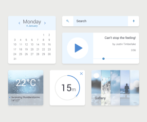 Widget UI Kit