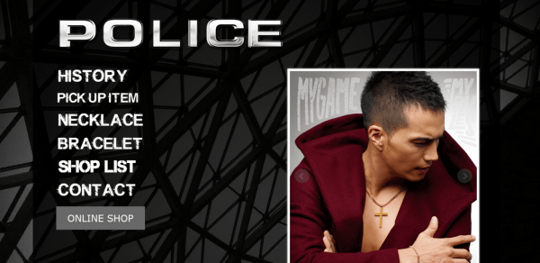 POLICE___ポリスアクセサリー_Official_Site