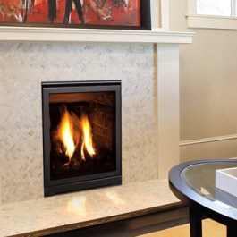 Enviro Q1 Fireplace Cream Wall