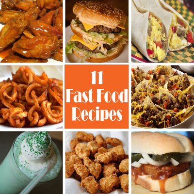 11 Popular Fast Food Recipes You Can Make At Home