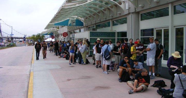 Line outside