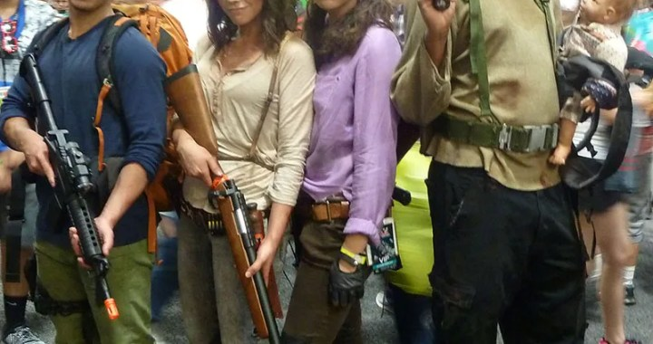 Walking Dead cosplay at SDCC