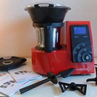 Kitchen Hero Multifunktion Küchenmaschine Thermo 2l rot im #Test #Klarstein