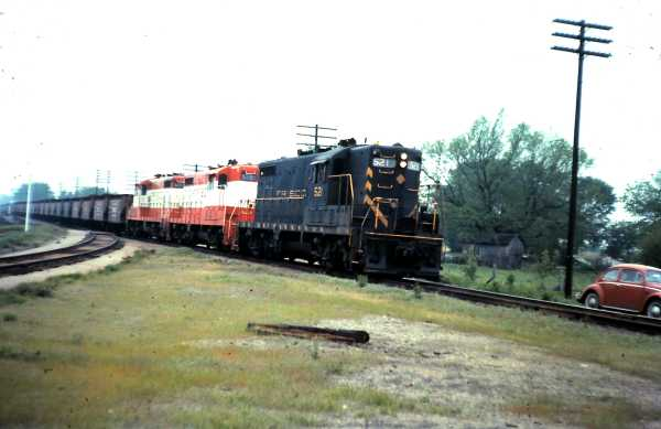 GP7s 521, 575 and 529 (date and location unknown)
