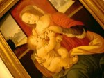 This painting of Mary breastfeeding Jesus hangs in the Vatican