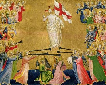 Christ Glorified In The Court Of Heaven Fra Angelico