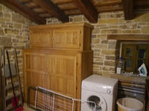 One very well-appointed and beautiful...utility room