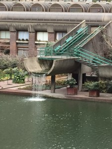 concrete water features