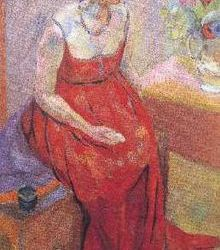 Vanessa Bell by Roger Fry 1916