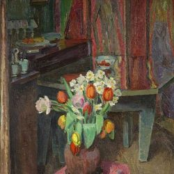 An Interior, 8 Fitzroy Street by Vanessa Bell
