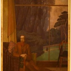 Lytton Strachey - a self-portrait