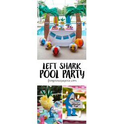 Lovable Getting Ready Need Some Howabout A Few Left Shark Party Ideas On A Budget Frog Prince Paperie Party Ideas Birthday Party Ideas 14 Year S Summer Parties