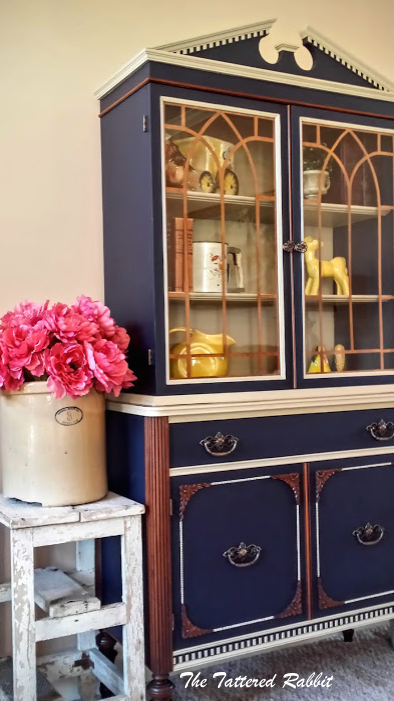 FEATURE - China Cabinet Makeover by the Tattered Rabbit