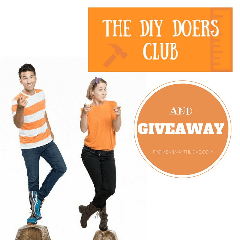 The DIY Doers Club and Fabulous GIVEAWAY