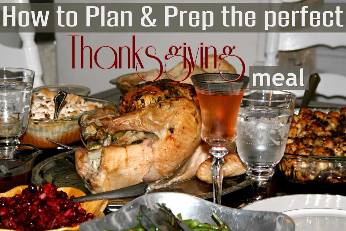 How to Plan & Prep the Perfect Thanksgiving Meal