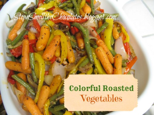 whole 30 food - roasted vegetable