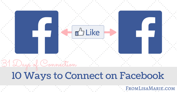 Facebook connecting