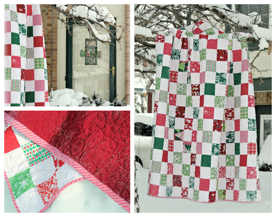 Christmas Snapshots Quilt Quilts